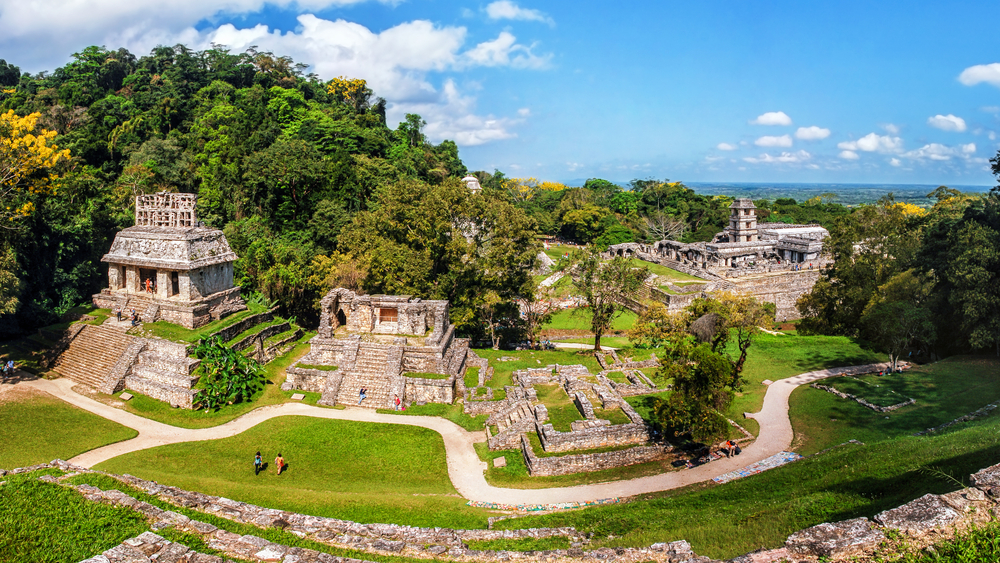 Archeological Area of Palenque